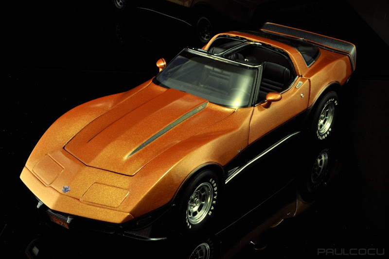 Modificación Chevrolet Corvette 1978 1:18 Ut models