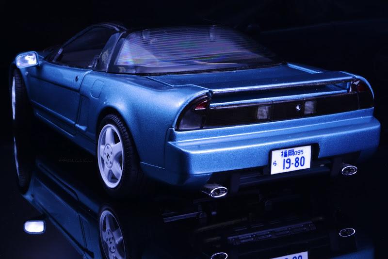 Restauración Honda NSX Kyosho 1:18