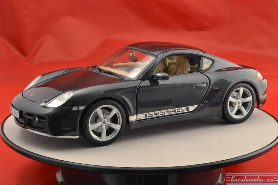 Modificación de un Porsche Cayman a escala 1:18 de Maisto