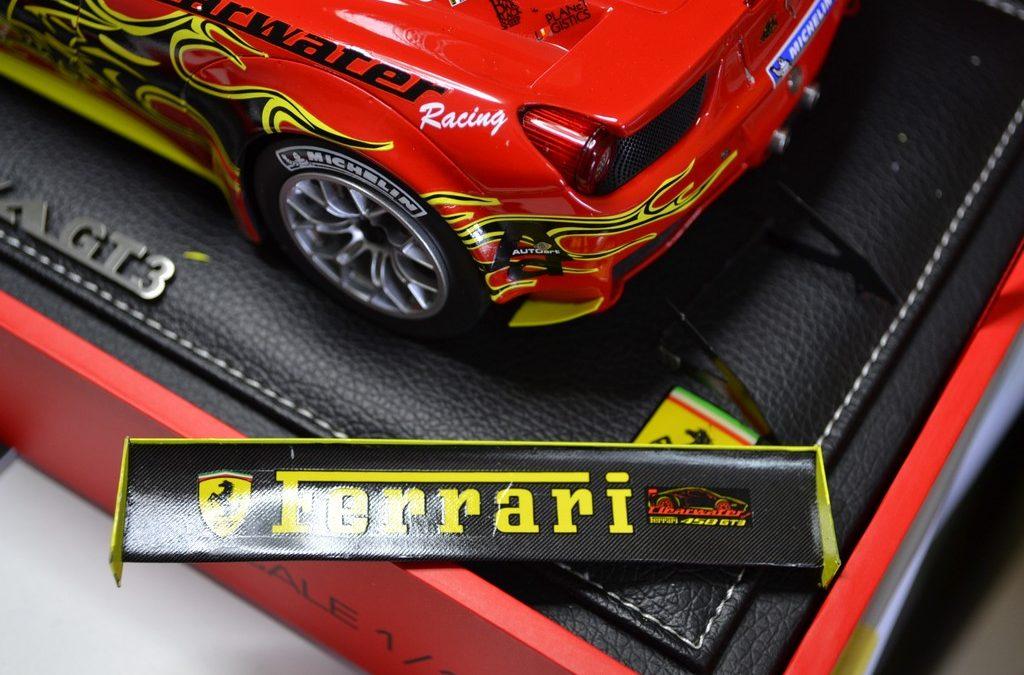 Proceso Ferrari 458 italia GT3 1:18 BBR models Parte 1