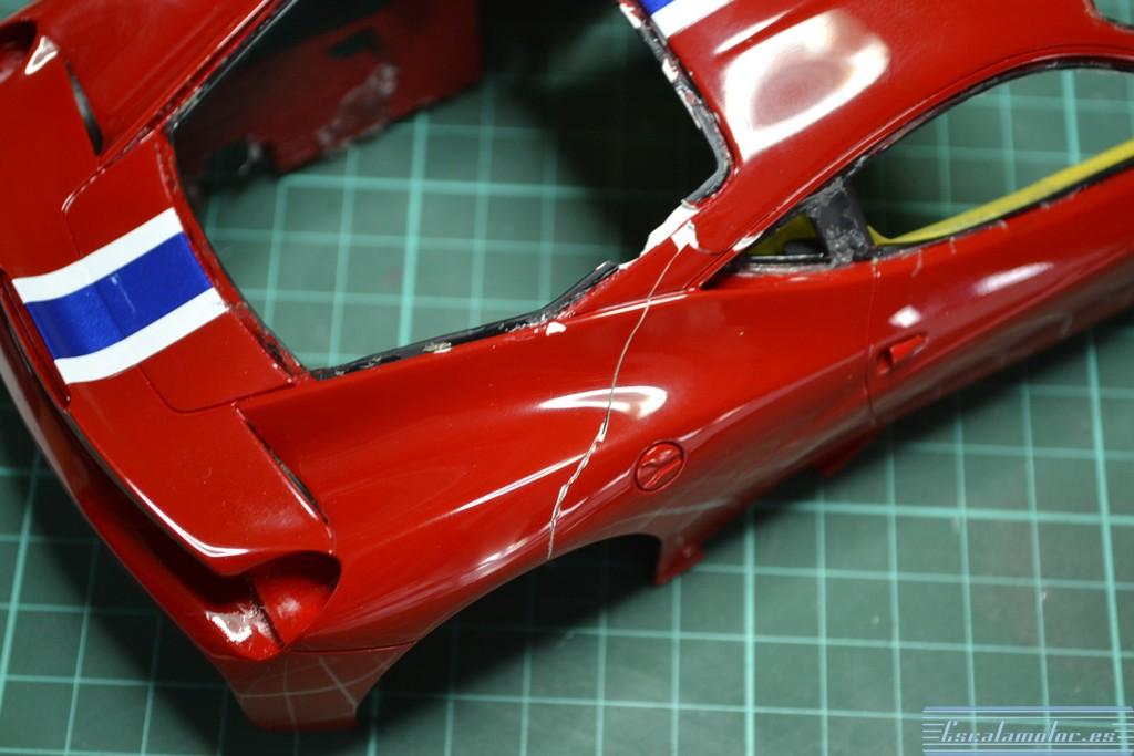 Restauración Ferrari 458 speciale BBR escala 1:18 Parte I