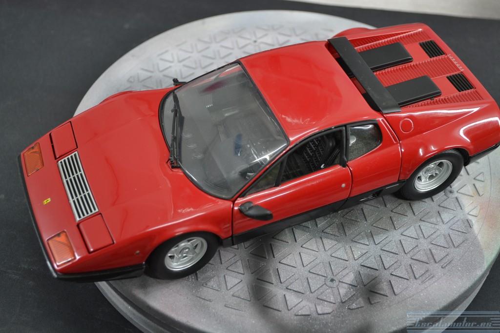 Restauracion Ferrari 512BB Kyosho 1:18