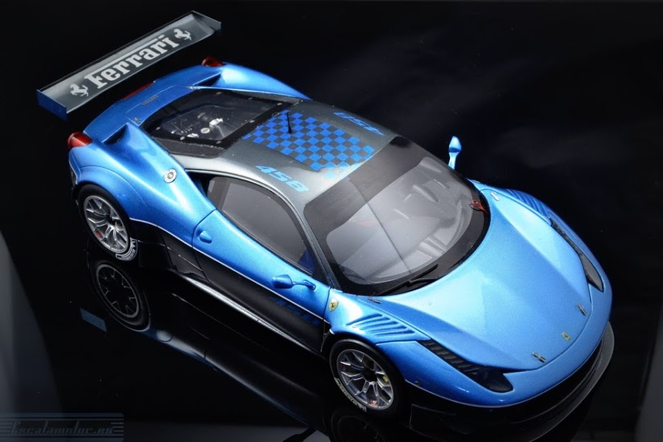 Proceso Ferrari 458 italia GT3 1:18 BBR models Parte 2