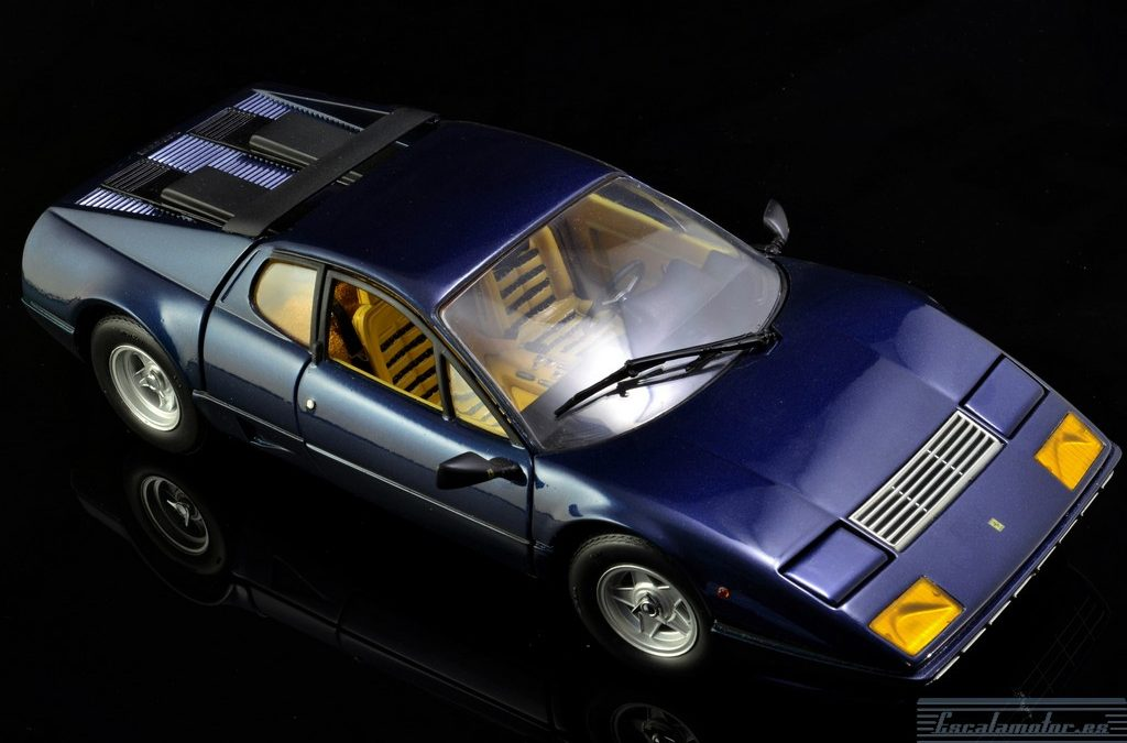 Restauracion Ferrari 512BB Kyosho 1:18 parte 2