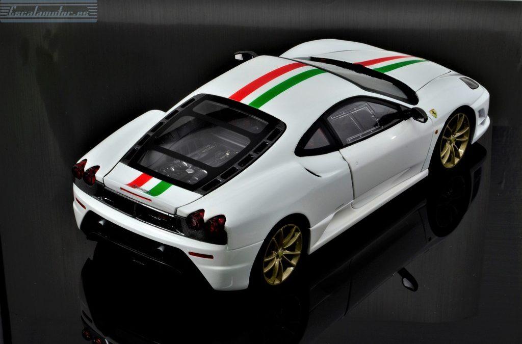 Ferrari F430 Scuderia Italian flag 1:18