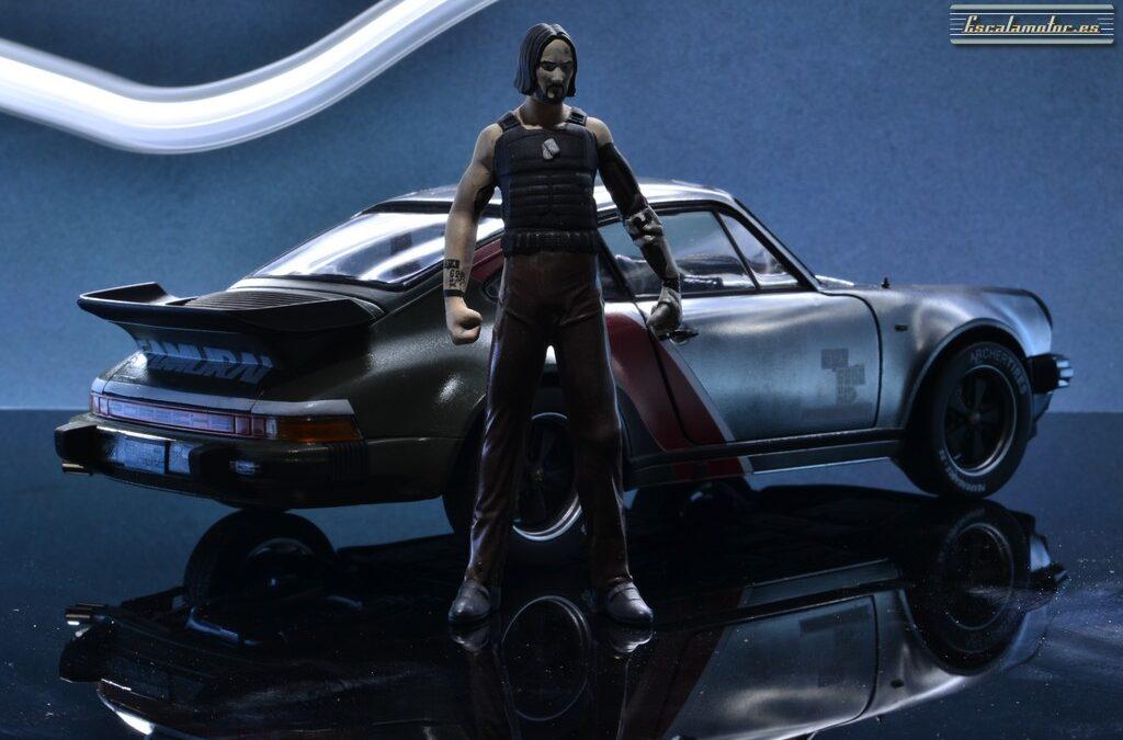 Cyberpunk 2077 Porsche 911 turbo Johnny Silverhand 1:18 Norev